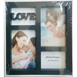 Photo Frame (Black) - Love