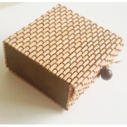 Wooden Box - Light Brown