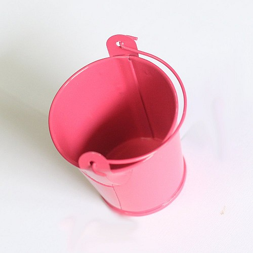 Mini Bucket (2.4 by 1.8 inch) - Dark Pink