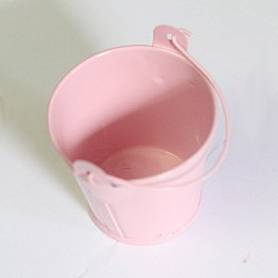 Mini Bucket (2.4 by 1.8 inch) - Baby Pink