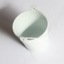 Mini Bucket (2.4 by 1.8 inch) - White