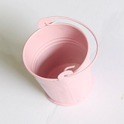 Mini Bucket (2 by 1.5 inch) - Baby Pink