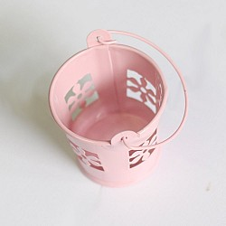 Mini Carved Bucket (2 by 1.6 inch) - Baby Pink