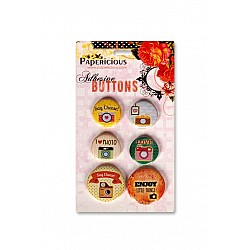 Papericious Adhesive Buttons - Snap It