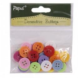 Decorative button pack - Large (Mix colors)