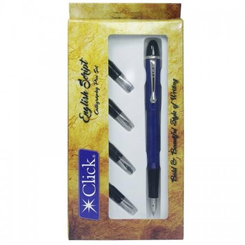 Click Calligraphy Scipt Set English (CSES00)