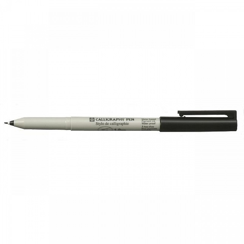 Buy Sakura 1mm Black Calligraphy Pen Online In India At Best Prices