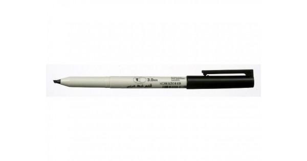 Buy Sakura 3mm Black Calligraphy Pen Online In India At