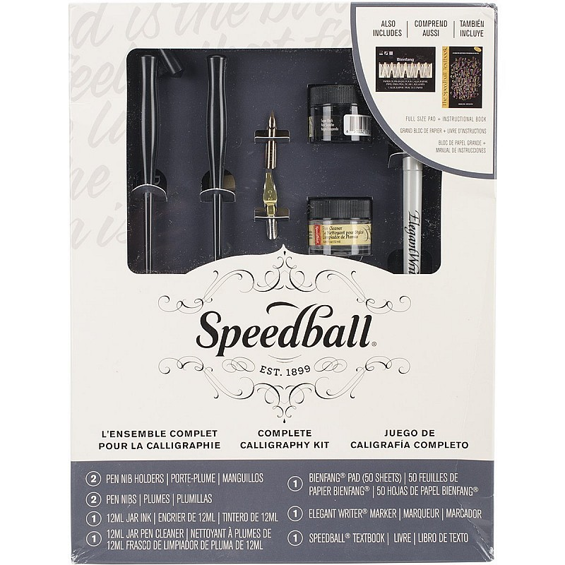 Buy speedball complete calligraphy set online in india at