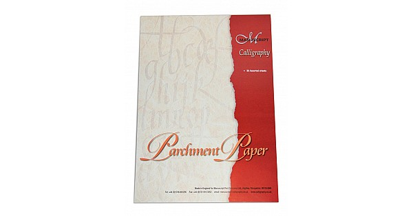 Buy Manuscript Calligraphy Parchment Paper Pad Online In