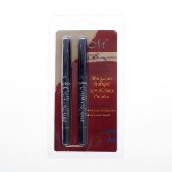 Manuscript Callicreative 2 Italic Marker Pens - Medium & Extra Broad
