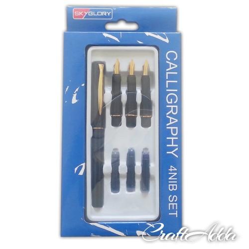 Buy Skyglory Calligraphy Pen Set 4 Nib Set Online In