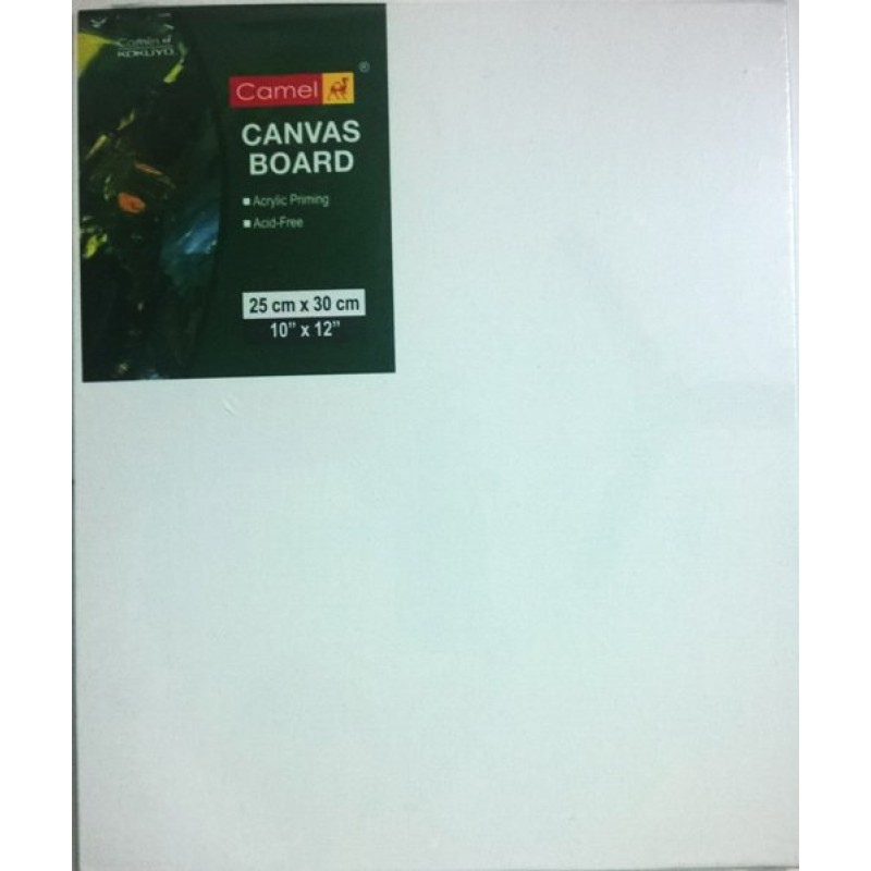 Buy camlin canvas board 10 x 12 online in india at for What is canvas board