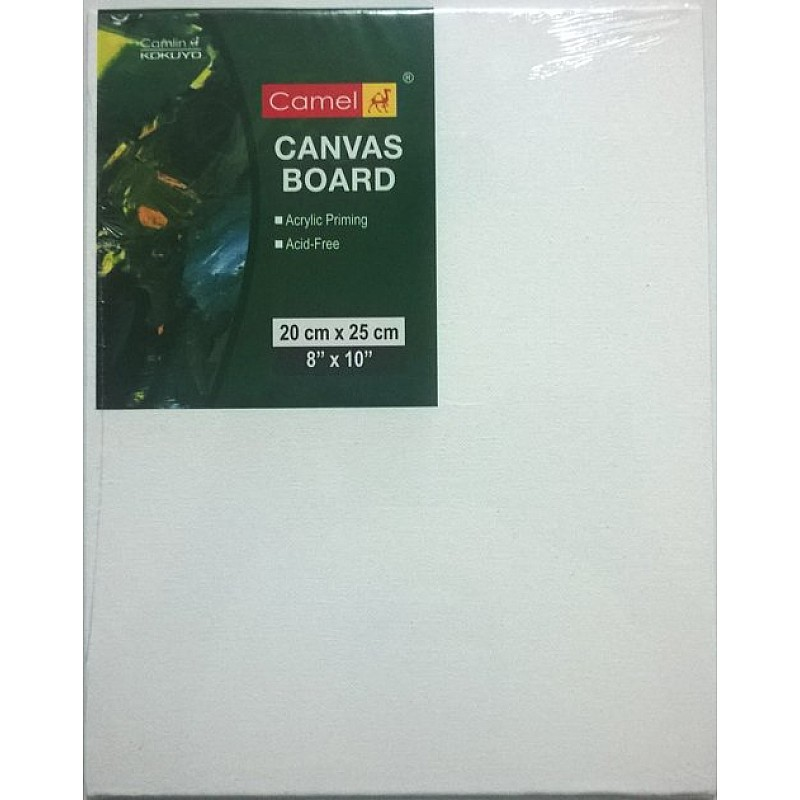 Buy Camlin Canvas Board 8 Quot X 10 Quot Online In India At Best Prices At Hndmd