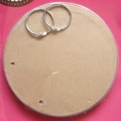 Chipboard Album - Circle