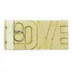 MDF Album - Love (Small)