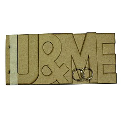 MDF Album - U and Me (Large)