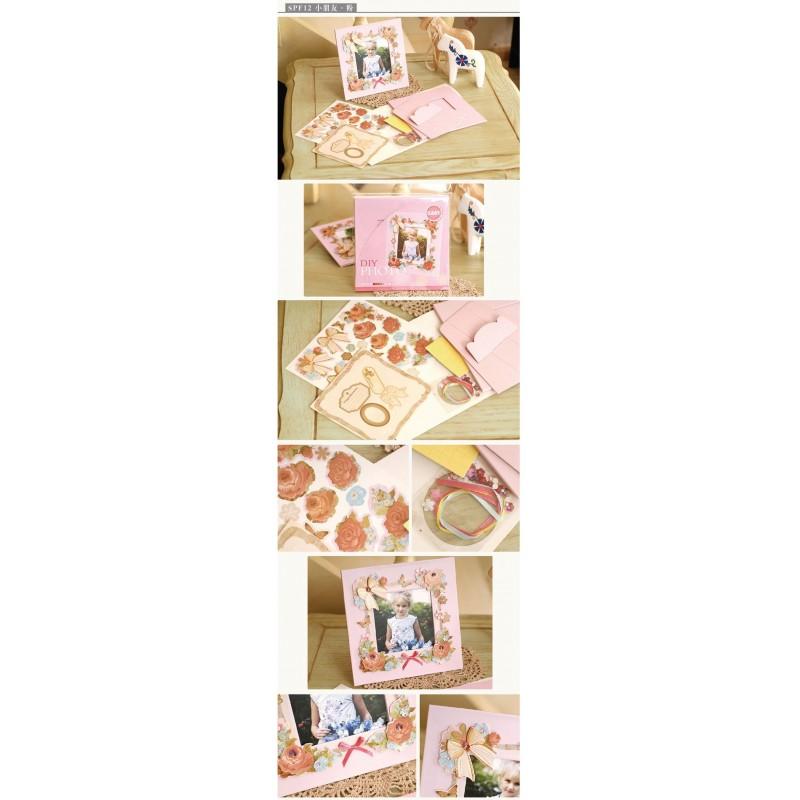 Buy DIY Photo Frame Kit by EnoGreeting - Retro Pink online ...
