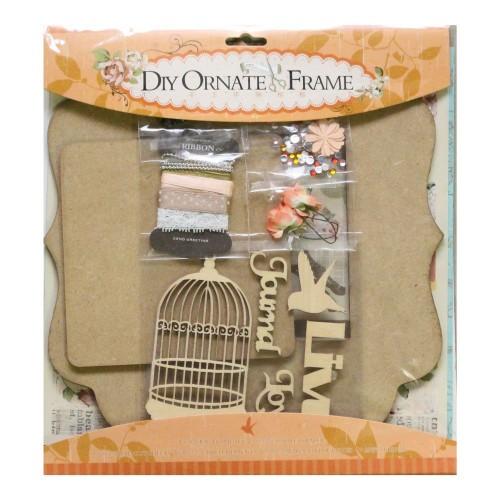 DIY Ornate Frame Kit by EnoGreeting (Big) - Live