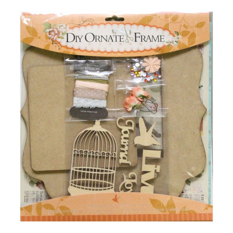 Buy DIY Ornate Frame Kit by EnoGreeting (Big) - Live ...