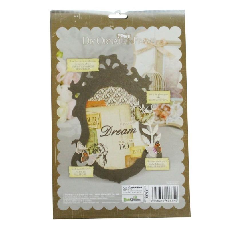 Buy DIY Ornate Frame Kit by EnoGreeting (Small) - Love ...