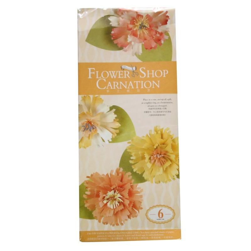 Buy diy paper flower making kit by enogreeting carnations online diy paper flower making kit by enogreeting carnations mightylinksfo