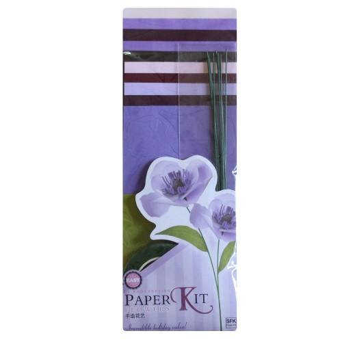 DIY Paper Flower making Kit by EnoGreeting - Design 6