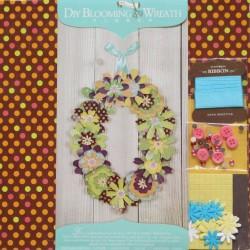 DIY Blooming Wreath Kit by EnoGreetting - Retro Blooms