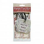 DIY Paper Tag Kit by EnoGreeting - A Moment