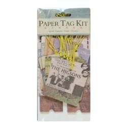 DIY Paper Tag Kit by EnoGreeting - Travel