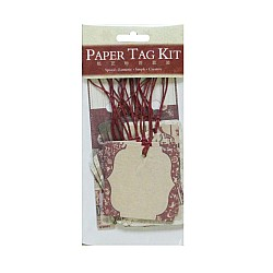 DIY Paper Tag Kit by EnoGreeting - A Moment in Christmas