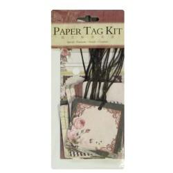 DIY Paper Tag Kit by EnoGreeting - The Retro