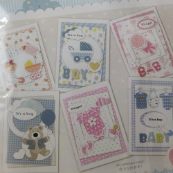 6 Cardmaking Kit by Enogreeting - Baby