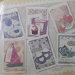 6 Cardmaking Kit by Enogreeting - Birthday