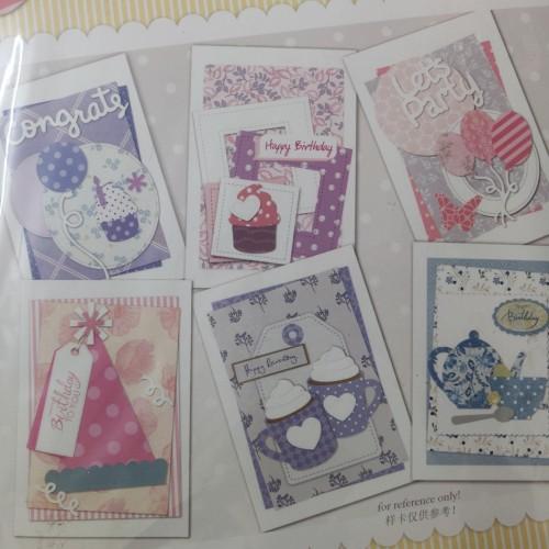 6 Cardmaking Kit by Enogreeting - Birthday
