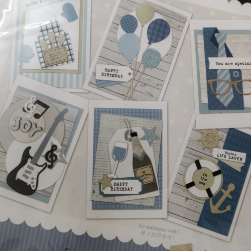 6 Cardmaking Kit by Enogreeting - Men