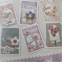 6 Cardmaking Kit by Enogreeting - Floral