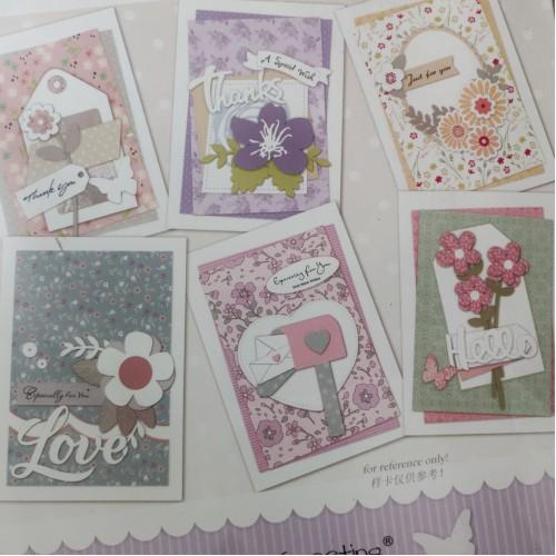 6 Cardmaking Kit by Enogreeting - Floral