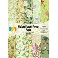 Vellum Paper A4 Florent Flower