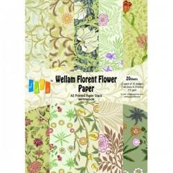 Vellum Paper A5 Florent Flower