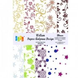 Vellum Paper A5 Alpana Design