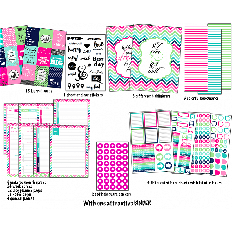 how to make a planner out of a binder