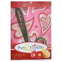 Paper Flower Making Kit - Design5