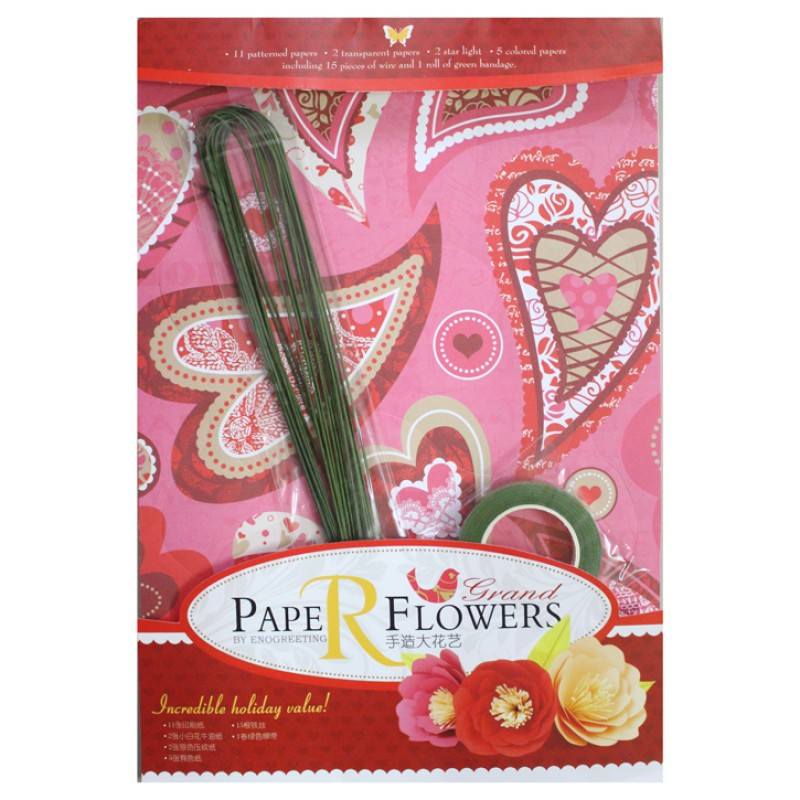 Buy paper flower making kit design5 online in india at best prices paper flower making kit design5 mightylinksfo
