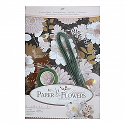 Paper Flower Making Kit - Design3