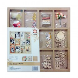 Wooden DIY Photo Display (Large) by Eno Greetings