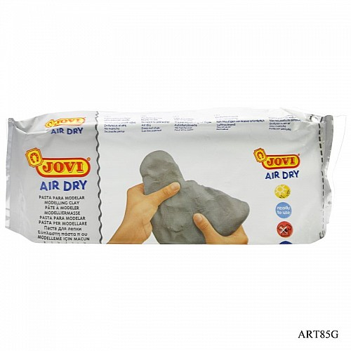 Jovi Air Hardening / Air Dry Clay - Grey (500 gms)