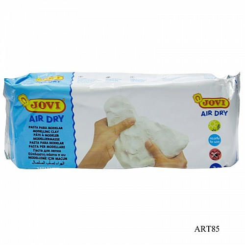 Jovi Air Hardening / Air Dry Clay - White (500 gms)
