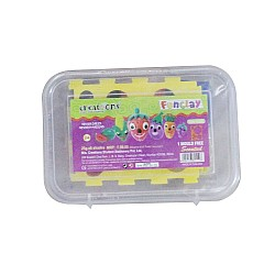 Creations Fun Clay (Pack of 6 colors and 1 mould)