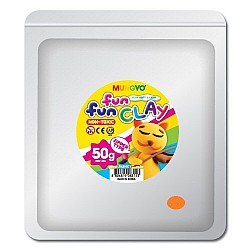 Mungyo Fun Fun Clay - Orange (50gms)